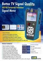 Terrestrial T2 TV Signal Meter