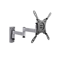 "Aluminum Articulating Wall Mount 13"" To 42"", Up To 15kg - Designed for Caravans"