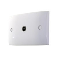 Wall Plate Single Entry PAL Isolated