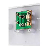 Wall Plate Single Entry PAL Screw & Saddle