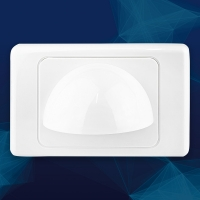 Wall Plate Bullnose White