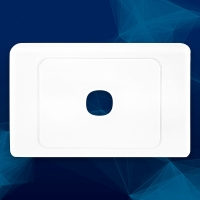 Wall Plate Premium 1 Gang - Click for more info