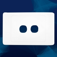 Wall Plate Premium 2 Gang - Click for more info