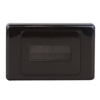 Wall Brush Plate Black