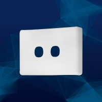 Wall Plate Premium Classic 2 Gang