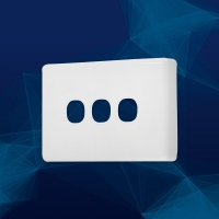 Wall Plate Premium Classic 3 Gang