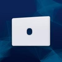 Wall Plate Slimline Premium 1 Gang