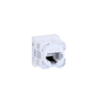 Wall Plate Mechanism AMDEX CAT6 White