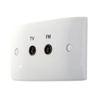 Wall Plate PAL TV & PAL FM Outlets